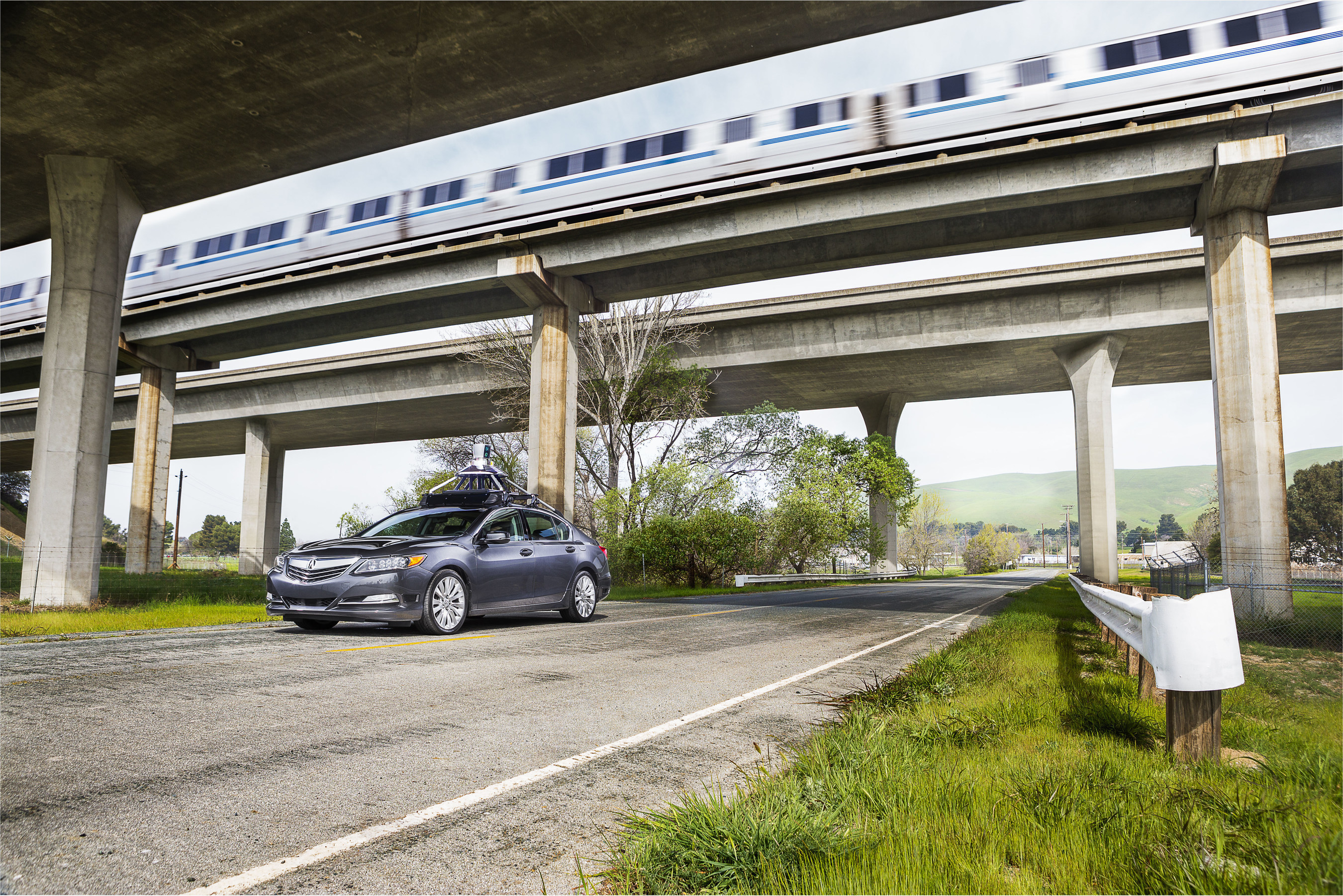 Honda Testing Innovative Automated Vehicle Technology at Bay Area Navy Base