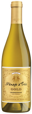 The wine brand widely credited with defining the premium red blend category has launched a new Chardonnay, Menage à Trois GOLD ($12 SRP).