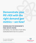 Demonstrate the ROI of PR with tips on the metrics that matter
