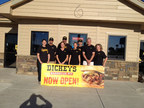 The first Dickey's Barbecue Pit in York opens Thursday with a three day grand opening celebration. Three guests will get free barbecue for an entire year! (PRNewsFoto/Dickey's Barbecue)