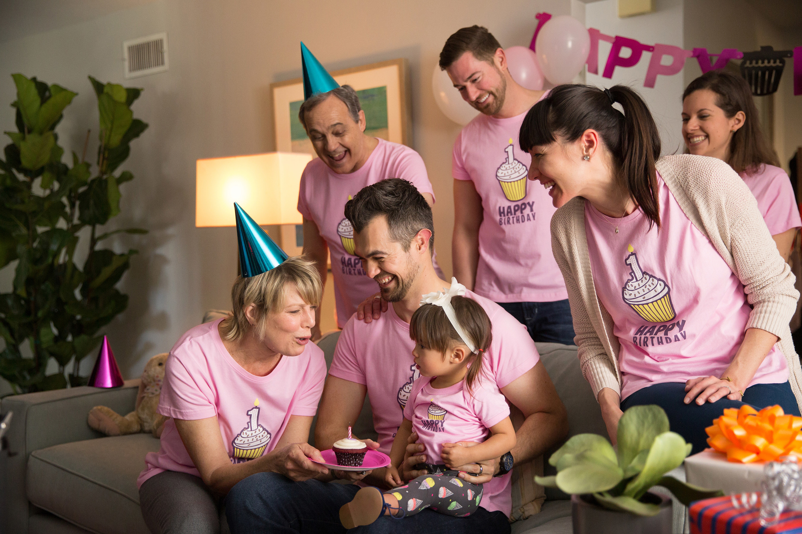"""Still image from CustomInk's new """"For All of Life's Events"""" advertising campaign (credit: CustomInk)"""