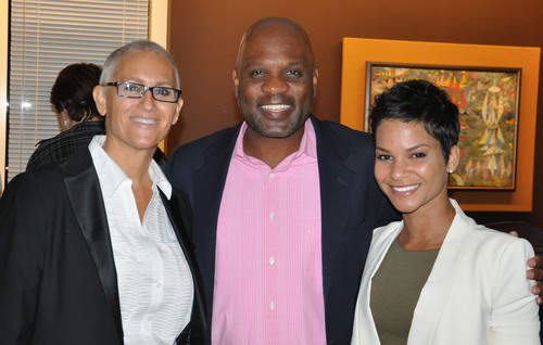 From L to R: Robin Schwartz, Lamell McMorris, and Attorney Jessica Kimbrough at the Aqua Alley Awards on ...