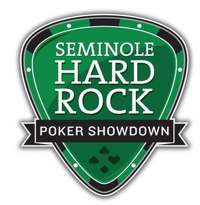 Seminole Hard Rock Poker Showdown logo.  (PRNewsFoto/Seminole Hard Rock Hotel & Casino Hollywood)