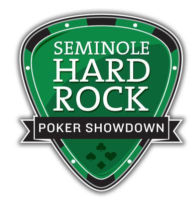 Seminole Hard Rock Poker Showdown logo.  (PRNewsFoto/Seminole Hard Rock Hotel & Casino Hollywood)