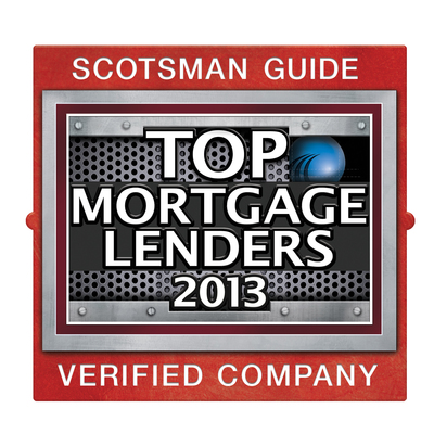 Scotsman Guide Top Mortgage Lenders 2013 (PRNewsFoto/Cobalt Mortgage)
