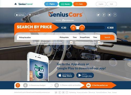 New app (on this photo) from start-up success GeniusTravel.com inspires travelers to broaden their horizons. (PRNewsFoto/GeniusTravel_com)