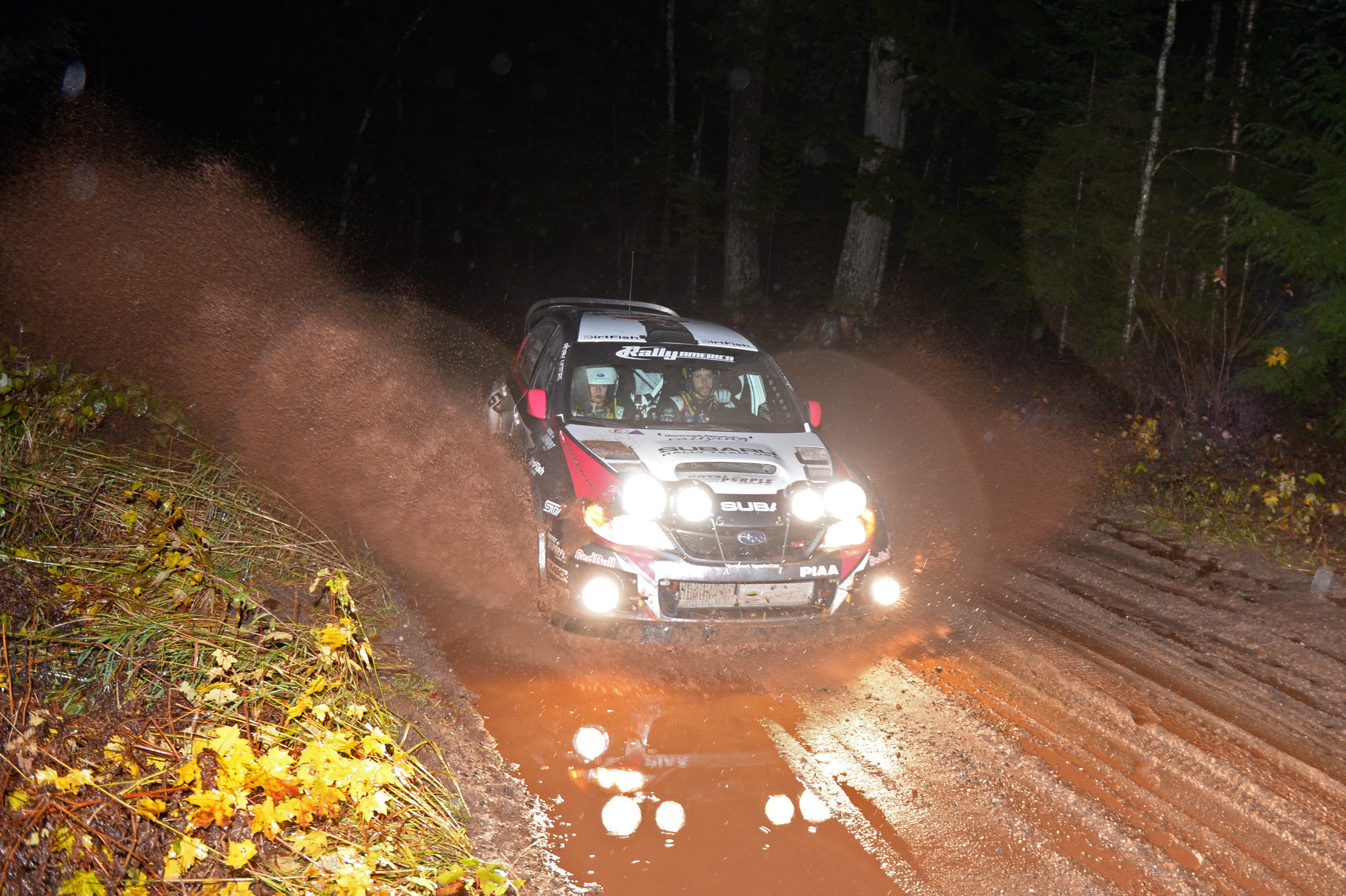 subaru rally team usa u0027s david higgins caps off near perfect season