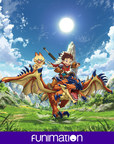 """""""Monster Hunter Stories Ride On"""" key art image. Courtesy of Funimation Entertainment."""
