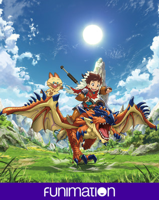 """Monster Hunter Stories Ride On"" key art image. Courtesy of Funimation Entertainment."