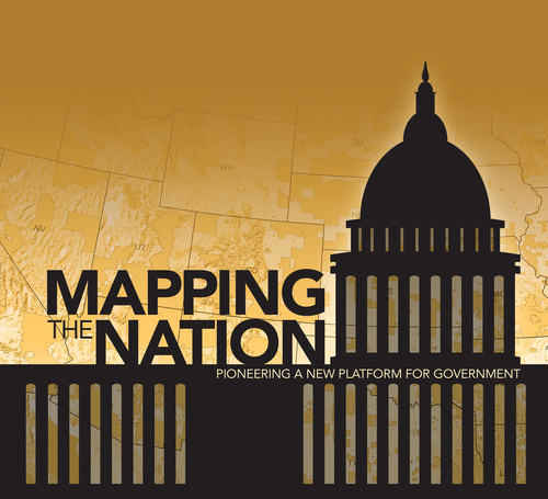 This new map book includes 133 full-color maps produced by more than 30 federal government agencies.  (PRNewsFoto/Esri)