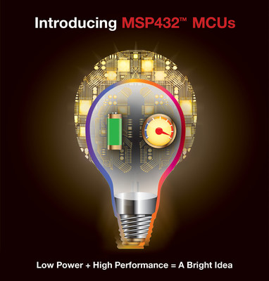 Texas Instruments debuts MSP432(TM) MCU: The world's lowest power microcontroller.