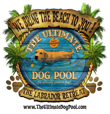 The Ultimate Dog Pool logo.   (PRNewsFoto/The Ultimate Dog Pool, LLC)