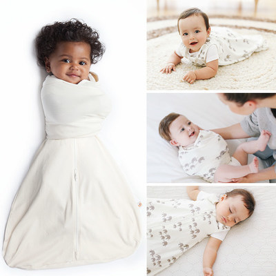 ERGOBABY DEBUTS INNOVATIVE BABY SLEEPING BAG + SWADDLE SET - A Customizable Sleep Solution that Grows With Baby and Features 9 Unique Positions for Different Infant Sleep Stages