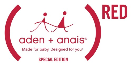 New (aden + anais)RED Special Edition Collection Empowers Mothers To Nurture The Futures of Generations to Come (PRNewsFoto/(RED))