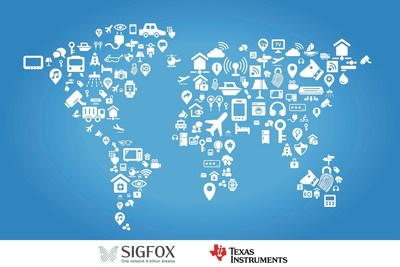 SIGFOX and TI collaborate to deliver cost-effective, long-range, low-power Internet of Things connectivity