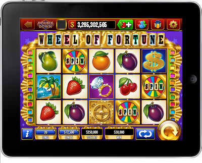 IGT's DoubleDown Casino Doubles Bonus Excitement with Wheel of Fortune Extra Spin