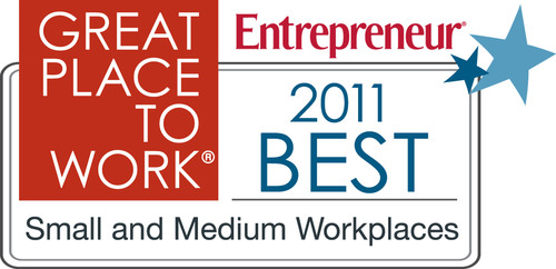 Announcing the Great Place to Work® Rankings: 2011 Best Small & Medium Workplaces Presented by