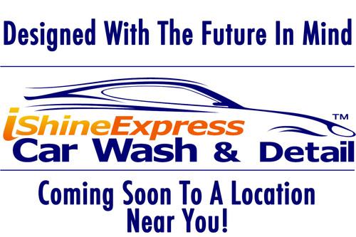 iShine Express Car Wash & Detail. (PRNewsFoto/Service Franchising, Inc.) (PRNewsFoto/SERVICE FRANCHISING, INC.)