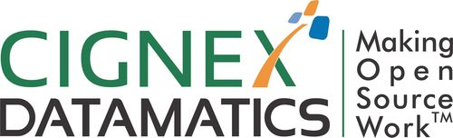 CIGNEX Datamatics Technologies Pvt Ltd Logo (PRNewsFoto/CIGNEX Datamatics Technologies)