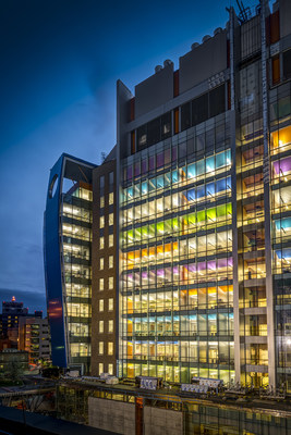 New Clinical Sciences Pavilion at Cincinnati Children's.