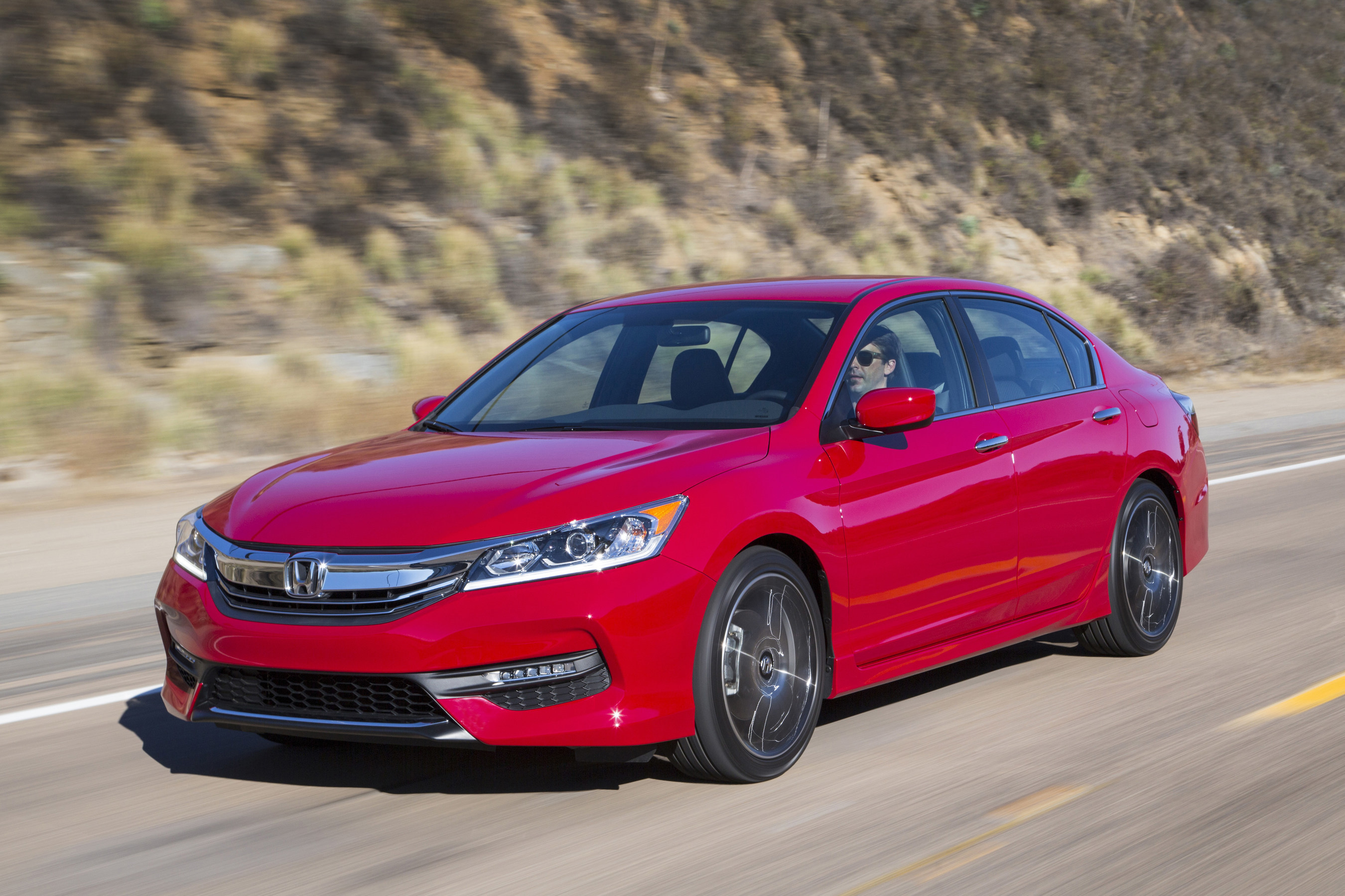 The 2017 Honda Accord Arrives In Showrooms Monday June 27 With A New Sport Special