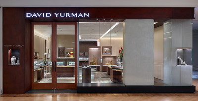 David Yurman Boutique Exterior Shot at Plaza Frontenac in St. Louis, Missouri. Photo Credit: Jeffrey Totaro