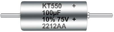 KEMET T550 Polymer Hermetic Seal (PHS) Series Capacitors.  (PRNewsFoto/KEMET Corporation)