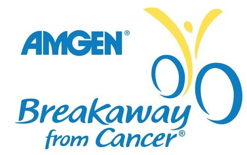 Amgen Breakaway from Cancer Logo. (PRNewsFoto/Amgen)