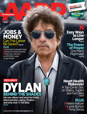 AARP The Magazine Features Exclusive Interview with Legendary Singer-Songwriter Bob Dylan