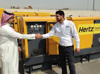 Hertz Dayim Equipment Rental's new location in Riyadh, Saudi Arabia will serve multi-billion USD initiatives in infrastructure, commercial, government, military, construction, event services and industrial sectors of the Central Province.