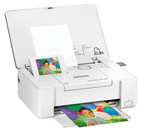 """Epson PictureMate PM-400 Personal Photo Lab delivers high-quality, long-lasting 4""""x6"""" and 5""""x7"""" photos in a wireless, space-saving design."""