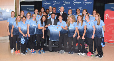 Meridian Health and Sky Blue FC unveil the 2015 jersey at Jersey Shore University Medical Center