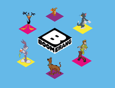 Turner Broadcasting's BOOMERANG network is being re-launched as a global all-animation, youth-targeted network, repositioned with a line-up of timeless and contemporary cartoons programmed for family co-viewing. Along with new acquisitions from around the world, BOOMERANG also will introduce a refreshed on-air environment and for the first time offer exclusive original content on the network across its 13 international feeds.