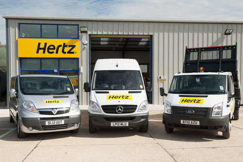 Models from the Hertz UK van fleet are showcased as the company announces new benefits for members of the FTA's Van Excellence scheme. As a Van Excellence Industry Partner, Hertz will offer members a host of benefits including preferential rates on car and van hire, telematics and Hertz On Demand vehicle pooling technology. Van Excellence members will also gain free membership to Hertz Gold Plus Rewards and can earn Nectar Points on all bookings. (PRNewsFoto/Hertz UK) (PRNewsFoto/HERTZ UK)