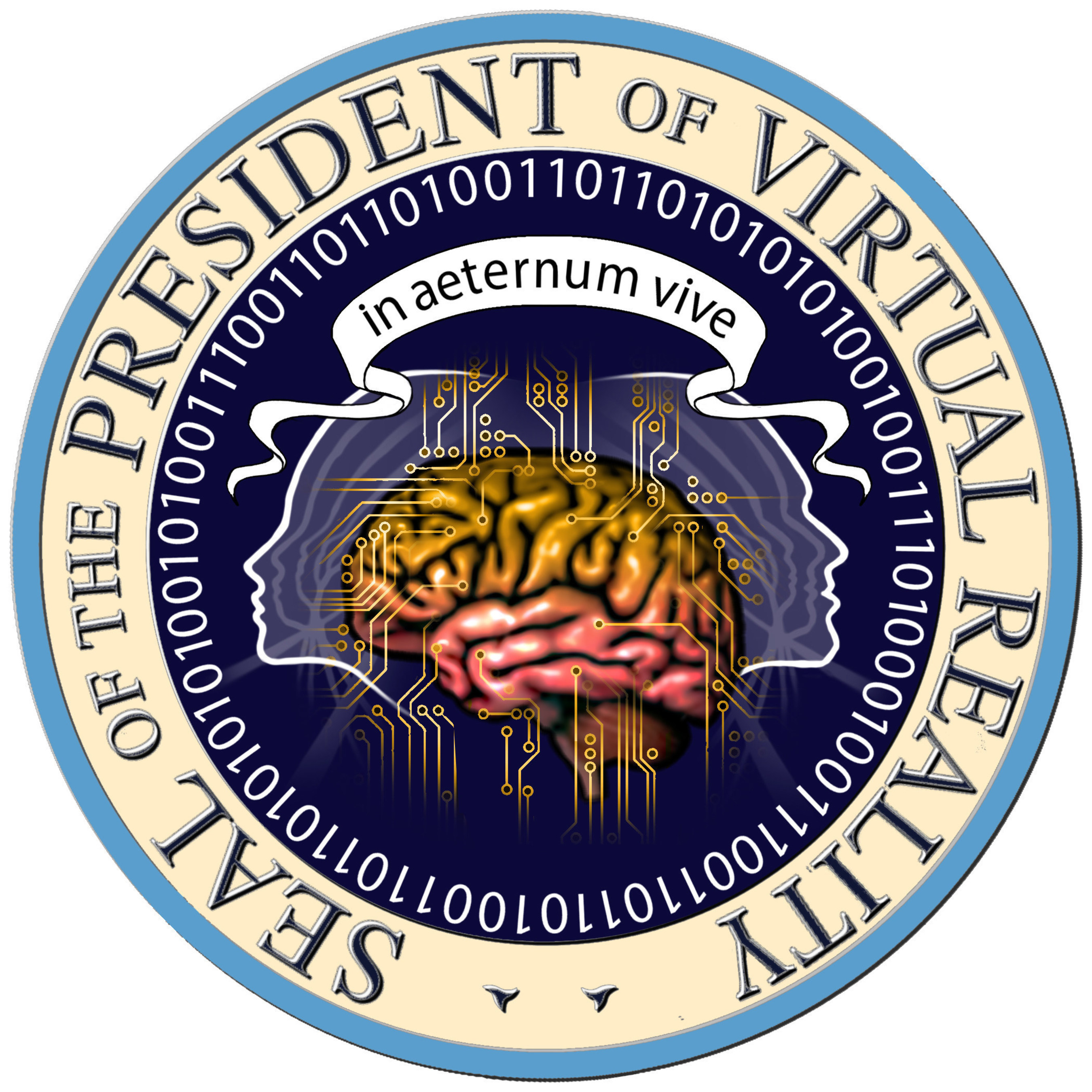 Official Seal of the President of Virtual Reality