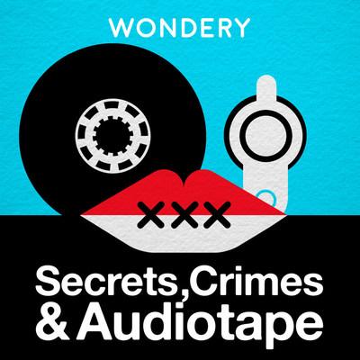 SECRETS, CRIMES & AUDIOTAPE LOGO