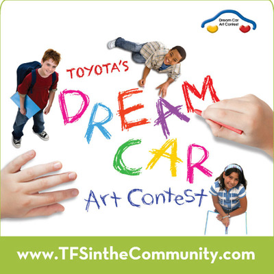 Toyota's Dream Car Art Contest 2013.  (PRNewsFoto/Toyota Financial Services)