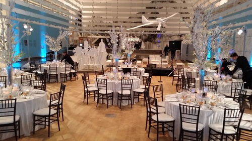 Amerivents creates elegant events in the contemporary atmosphere of Queens Museum. (PRNewsFoto/Amerivents)