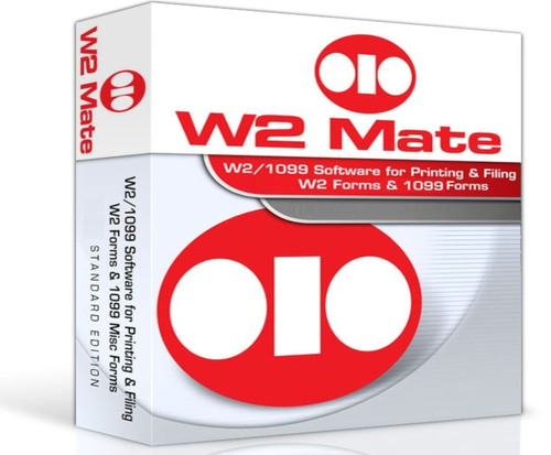 W2 Mate supports W2 and 1099 Electronic Filing.  (PRNewsFoto/Real Business Solutions Inc)
