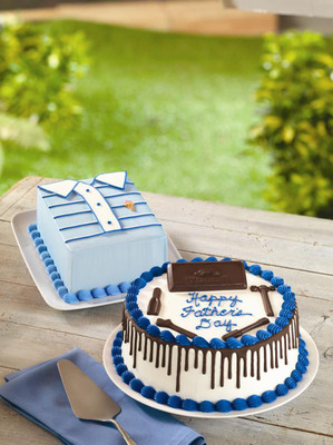 Baskin-Robbins Is Celebrating Dad In A Very Cool Way With Fun And Creative Ice Cream Cakes.  (PRNewsFoto/Baskin-Robbins)