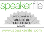 Speakerfile Wins Model of Excellence Award from InfoCommerce Group and Software & Information Industry Association