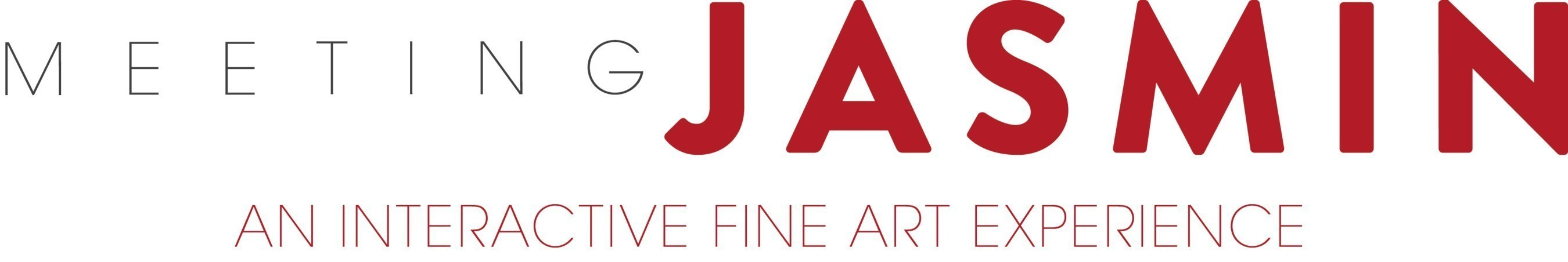 """Meeting JASMIN is an interactive fine art exhibition enhanced with the addition of augmented reality to bring select artworks """"to life"""" with unique, curated content."""
