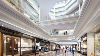 Copley Place Renovation Rendering