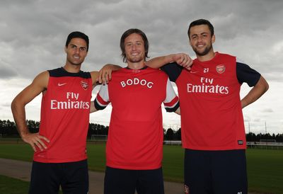 Bodog signs deal with Arsenal