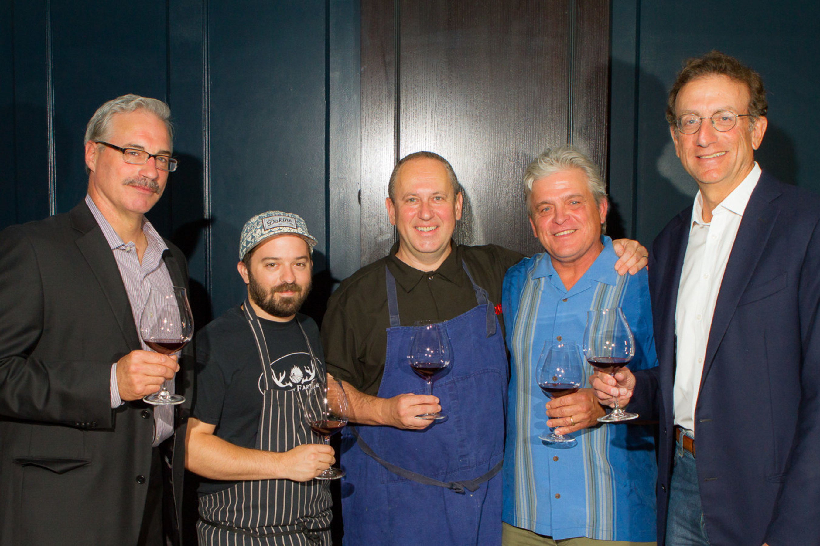 (L-R) Tony Rynders Consulting Winemaker Panther Creek Cellars; Doug Adams  sc 1 st  PR Newswire & Panther Creek Cellars Debuts Portfolio of Tony Ryndersu0027 Single ...