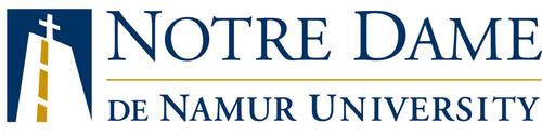 Notre Dame de Namur University logo.  (PRNewsFoto/Notre Dame de Namur University)