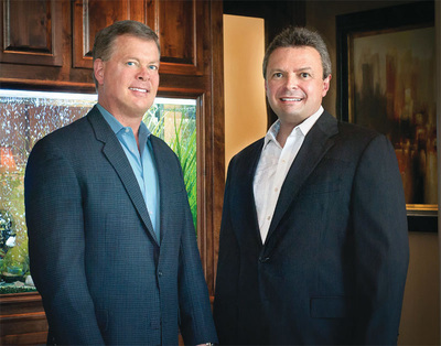 Drs. John Christian Schiro and Arturo Garcia.  (PRNewsFoto/Austin Cosmetic Dentistry)