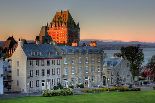 Quebec City.  (PRNewsFoto/Crystal Cruises)