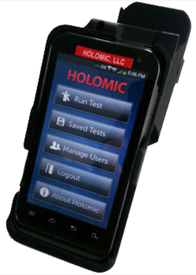Holomic Rapid Diagnostic Reader (HRDR-200).  (PRNewsFoto/ThyroMetrix, Inc.)