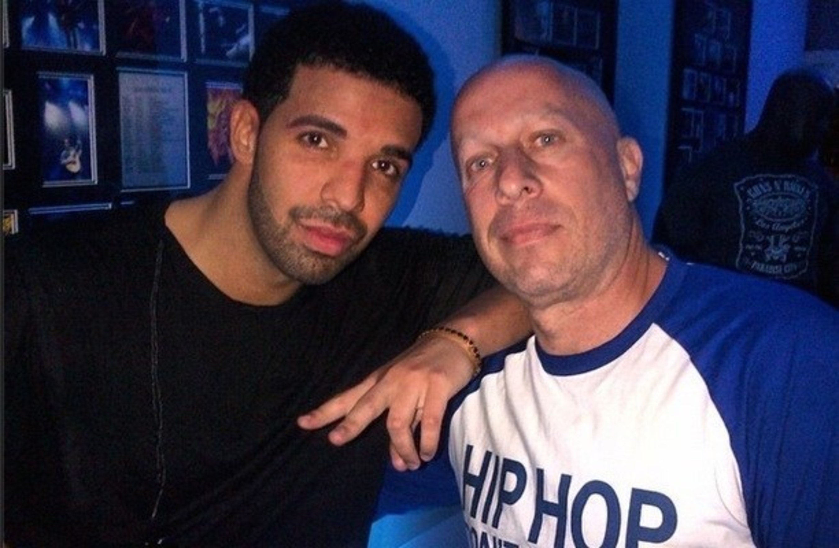 "OVO Boss Drake with Sean Kingston Manager, Steve Lobel ""HipHop Don't"""